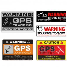 Alarm / GPS stickers