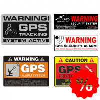 Alarm / GPS stickers