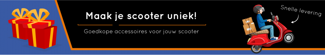 Banner De Scooter Shop