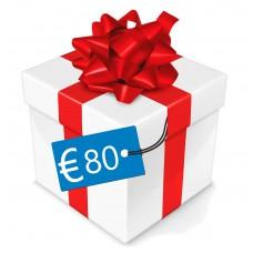 Cadeau box €20/€40/€60/€80