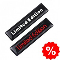 Limited Edition 3D sticker