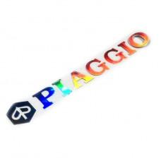 Piaggio custom sticker