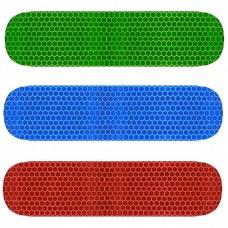 Reflector groen/blauw/rood/wit