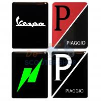 Custom Vespa 3D logo's